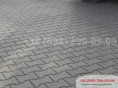 Тротуарная плитка Двойное Т Сераяфото 1