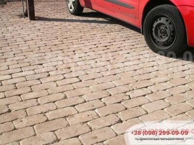 Тротуарная плитка Кирпич Антик 200х100 Персиковаяфото 2