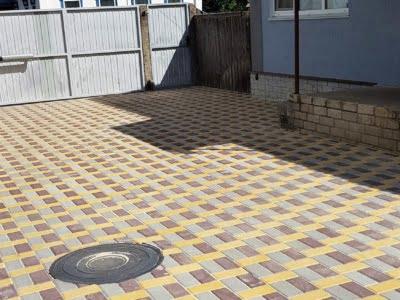 Тротуарная плитка Кирпич 200х100 Серыйфото 2