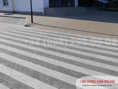 Тротуарная плитка Кирпич без фаски Белыйфото 13