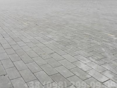 Тротуарная плитка Кирпич без фаски Сераяфото 10