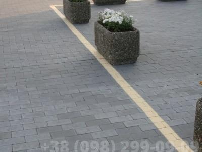 Тротуарная плитка Кирпич без фаски Сераяфото 11