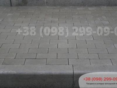 Тротуарная плитка Кирпич без фаски Сераяфото 12