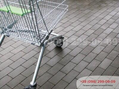 Тротуарная плитка Кирпич без фаски Сераяфото 14