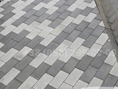 Тротуарная плитка Кирпич без фаски Сераяфото 8