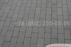 Серый Тротуарная плитка Кирпич без фаски Серая