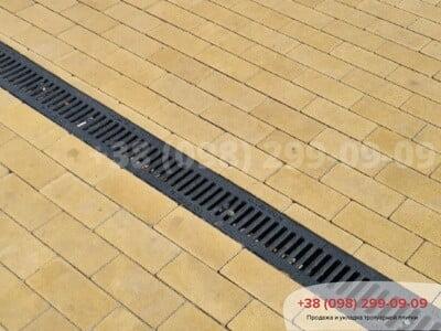 Тротуарная плитка Кирпич без фаски Желтаяфото 11