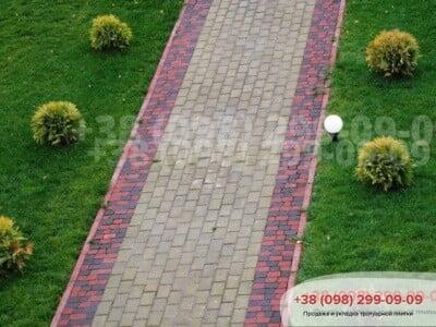 Тротуарная плитка Кирпич Горчичнаяфото 5