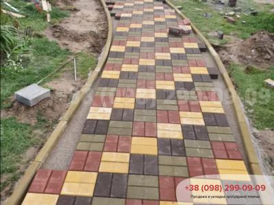 Тротуарная плитка Кирпич Желтаяфото 25