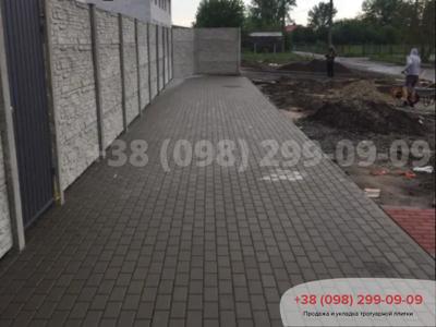 Тротуарная плитка Кирпич 200х100 Сераяфото 12