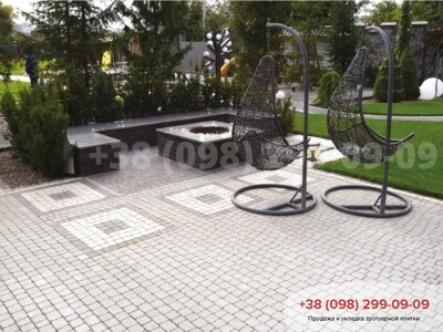 Тротуарная плитка Креатив Белаяфото 3