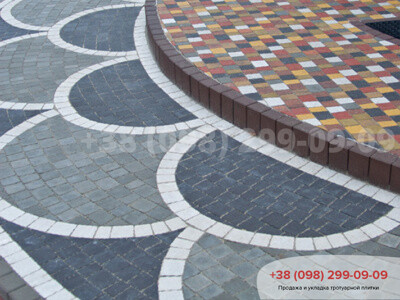 Тротуарная плитка Креатив Белаяфото 9