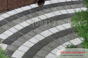 Черный Тротуарная плитка Креатив Черный