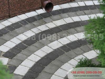 Тротуарная плитка Креатив Черныйфото 1