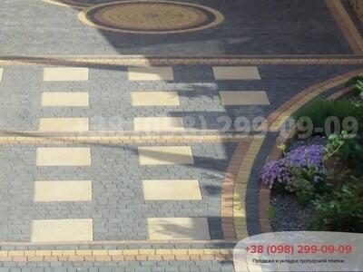 Тротуарная плитка Креатив Черныйфото 11