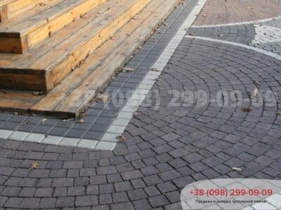 Тротуарная плитка Креатив Черныйфото 13