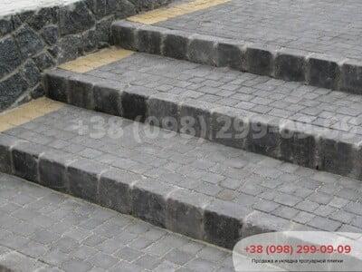 Тротуарная плитка Креатив Черныйфото 15