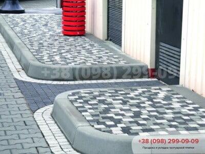 Тротуарная плитка Креатив Черныйфото 16