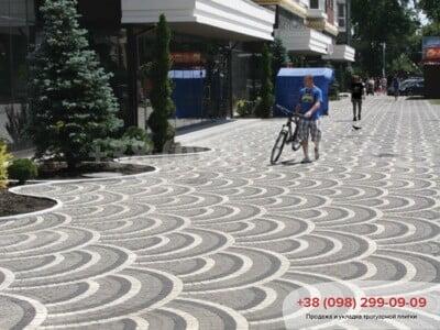 Тротуарная плитка Креатив Черныйфото 6