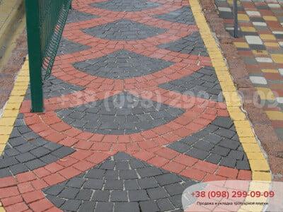 Тротуарная плитка Креатив Черныйфото 9