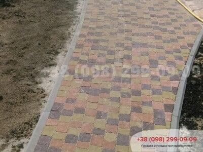Тротуарная плитка Креатив Горчичнаяфото 7