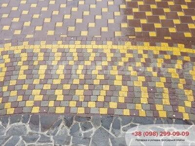 Тротуарная плитка Креатив Коричневаяфото 3