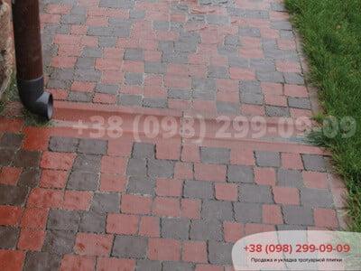 Тротуарная плитка Креатив Краснаяфото 1