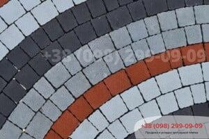 Красный Тротуарная плитка Креатив Красная
