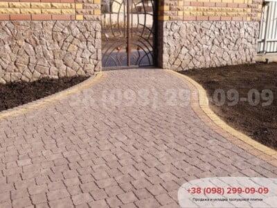 Тротуарная плитка Креатив Сераяфото 5