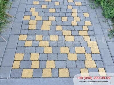 Тротуарная плитка Креатив Желтыйфото 11