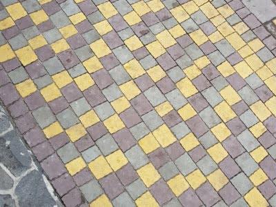 Тротуарная плитка Креатив Желтыйфото 1