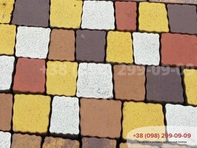 Тротуарная плитка Креатив Желтыйфото 2