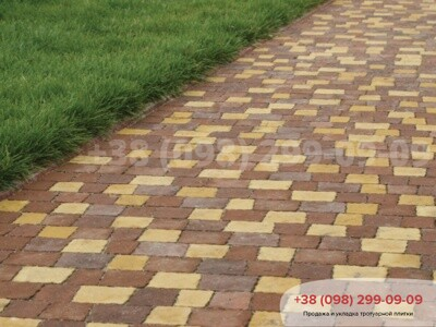 Тротуарная плитка Креатив Желтыйфото 4