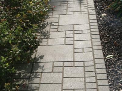 Тротуарная плитка Квадрат 100х100 сераяфото 3