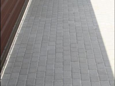 Тротуарная плитка Квадрат 100х100 сераяфото 8