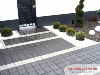 Тротуарная плитка Квадрат 200х200 черныйфото 9