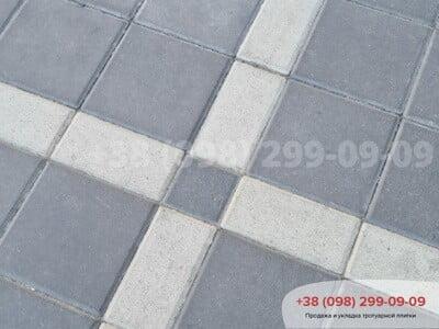 Тротуарная плитка Квадрат 200х200 черныйфото 6