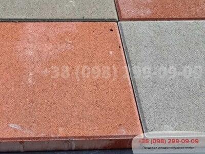 Тротуарная плитка Квадрат 200х200 Краснаяфото 4