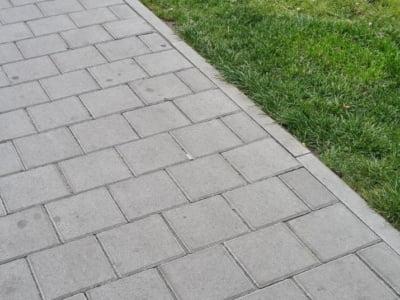 Тротуарная плитка Квадрат 200х200 сераяфото 9