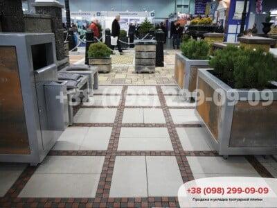 Тротуарная плитка Неолит белаяфото 3
