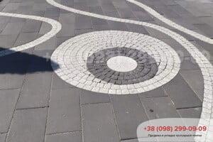 Черный Тротуарная плитка Неолит Черная