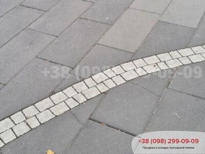 Тротуарная плитка Неолит Черныйфото 5