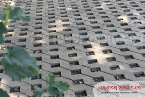 Серый Тротуарная плитка Парковочная Решетка Серая