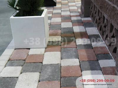 Тротуарная плитка Плац Белыйфото 2
