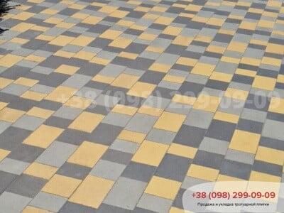 Тротуарная плитка Плац Чернаяфото 4
