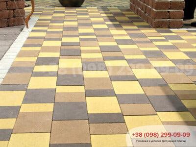 Тротуарная плитка Плац Персиковаяфото 2