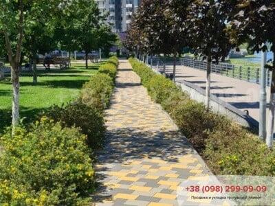 Тротуарная плитка Плац Желтаяфото 12