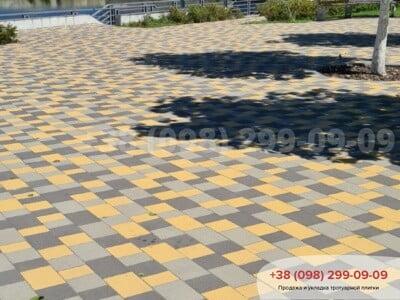 Тротуарная плитка Плац Желтаяфото 14