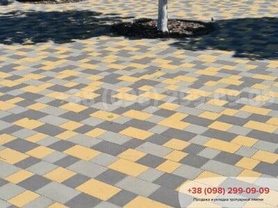 Тротуарная плитка Плац Желтаяфото 15