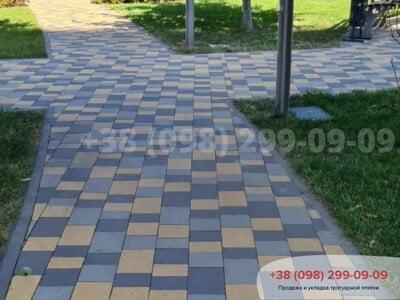 Тротуарная плитка Плац Желтаяфото 17